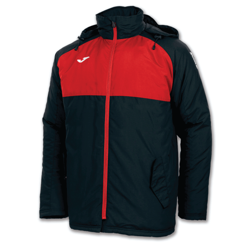ANDES WINTER JACKET - Black/Red