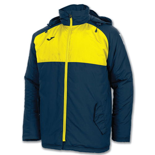 ANDES WINTER JACKET - Navy/Yellow