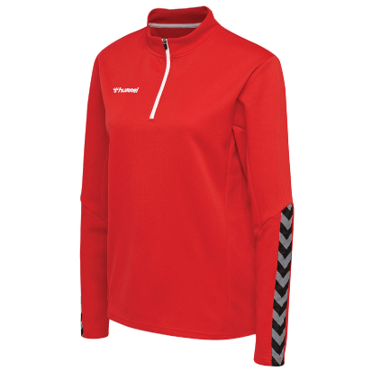 AUTHENTIC 1/2 ZIP SWEAT - True Red