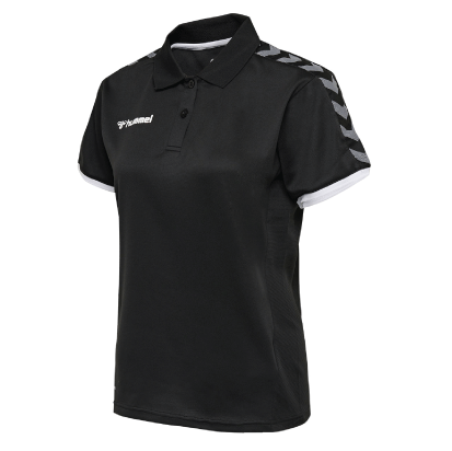AUTHENTIC FUNCTIONAL POLO - Black