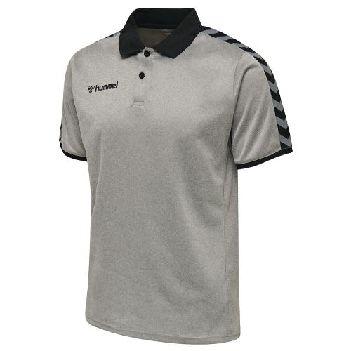 AUTHENTIC FUNCTIONAL POLO - Grey Melange