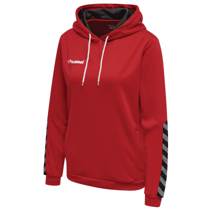 AUTHENTIC POLY HOODIE - True Red