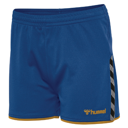 AUTHENTIC POLY SHORT - True Blue/Sports Yellow
