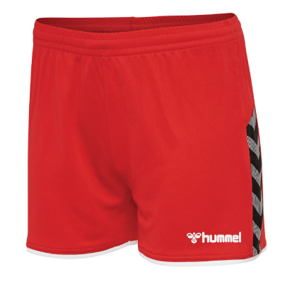 AUTHENTIC POLY SHORT - True Red