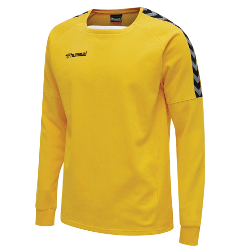 AUTHENTIC TRAINING SWEAT - Sports Yellow