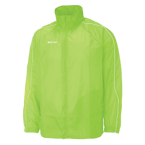 BASIC RAIN JACKET - Green Fluo