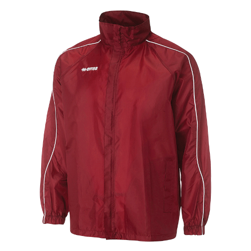 BASIC RAIN JACKET - Maroon