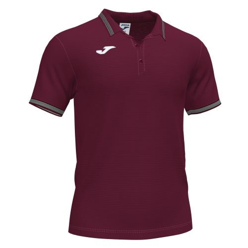 CAMPUS III POLO - Burgundy/White