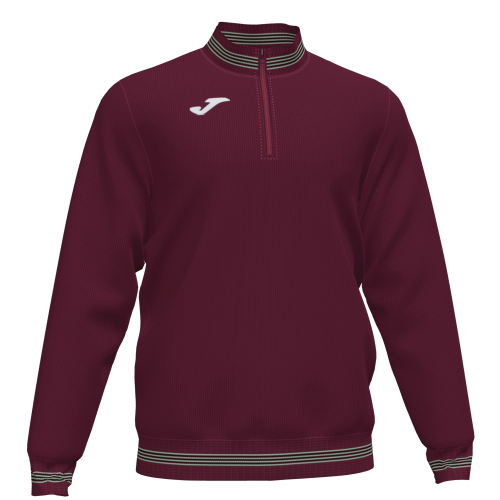 CAMPUS III SWEATSHIRT - Burgundy/White