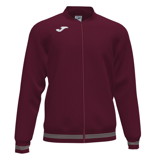 CAMPUS III TRACK TOP - Maroon/White