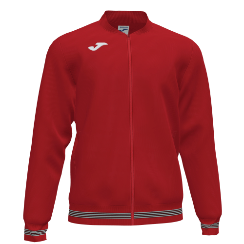 CAMPUS III TRACK TOP - Red/White
