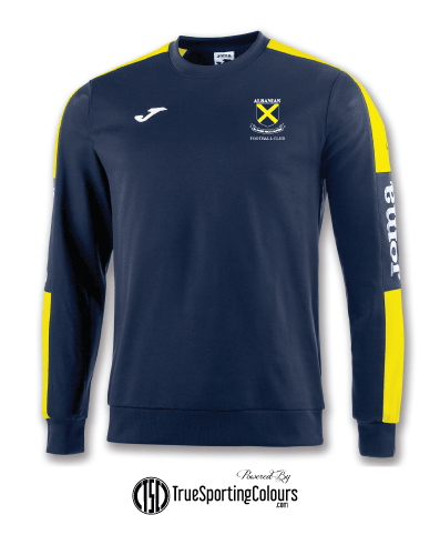 Champions IV Midlayer - Navy/Yellow - AFC
