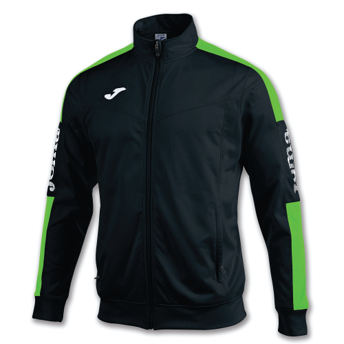 CHAMPIONSHIP IV TRACK TOP - Black/Fluor Green