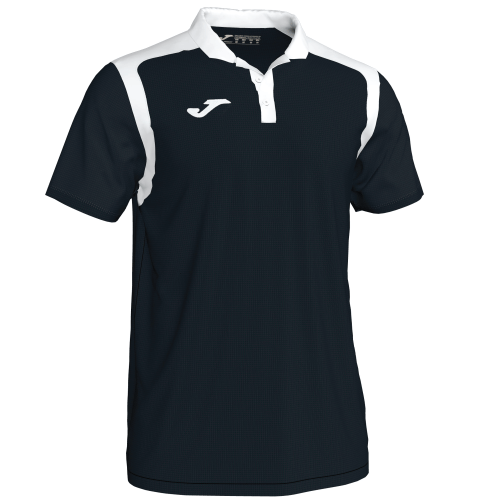 CHAMPIONSHIP V POLO - Black/White