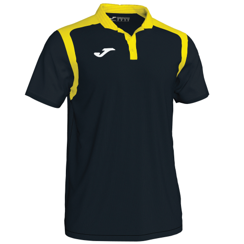CHAMPIONSHIP V POLO - Black/Yellow