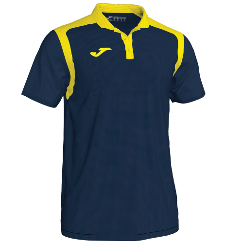 CHAMPIONSHIP V POLO - Dark Navy/Yellow