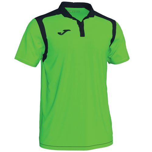 CHAMPIONSHIP V POLO - Green Fluor/Black