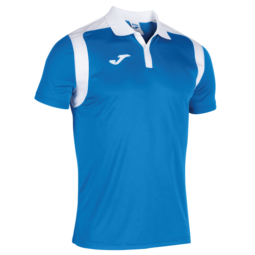 CHAMPIONSHIP V POLO - Royal/White