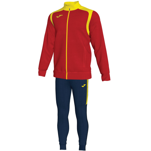 CHAMPIONSHIP V  TRACKSUIT - Red/Yellow/Dark Navy