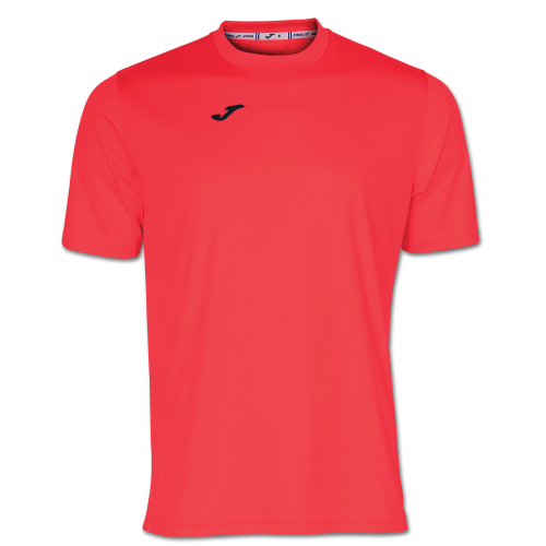 COMBI TRAINING SHIRT - Dark Orange Fluor