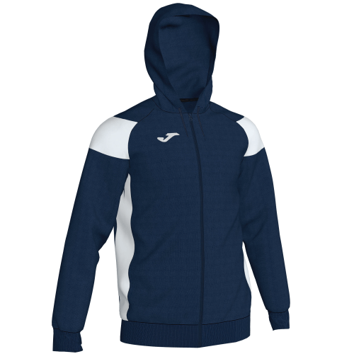 CREW III HOODED  TOP - Dark Navy/White