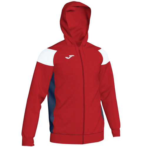 CREW III HOODED  TOP - Red/White