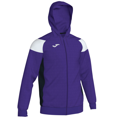 CREW III HOODED  TOP - Violet/White