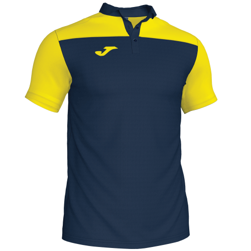CREW III POLO - Dark Navy/Yellow