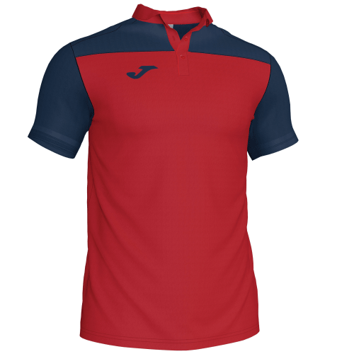 CREW III POLO - Red/Navy