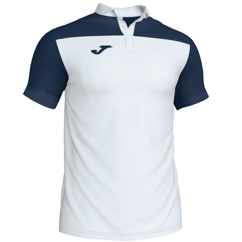 CREW III POLO - White/Dark Navy