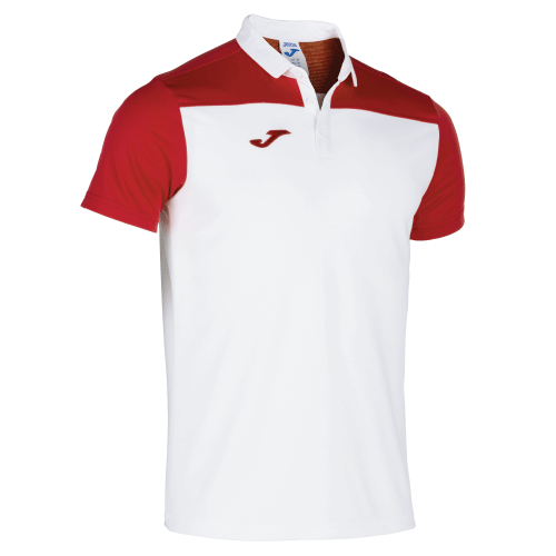 CREW III POLO - White/Red