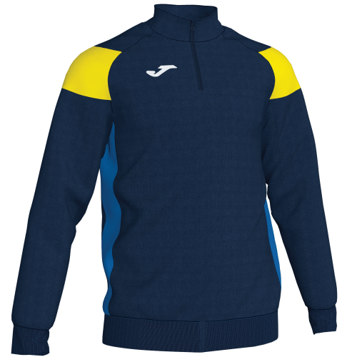 CREW III SWEATSHIRT - Dark Navy/Yellow