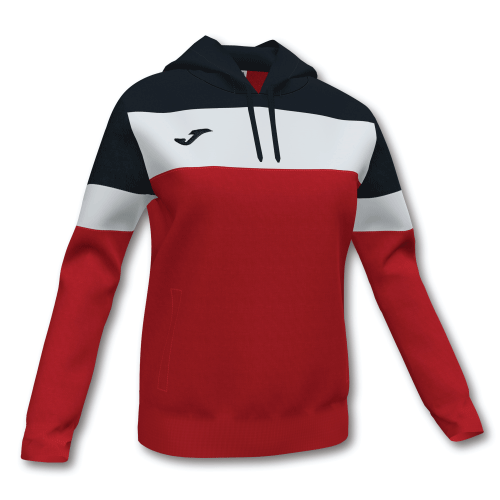 CREW IV HOODED SWEAT - Red/Black/White