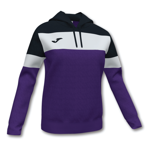 CREW IV HOODED SWEAT - Violet/Black/White
