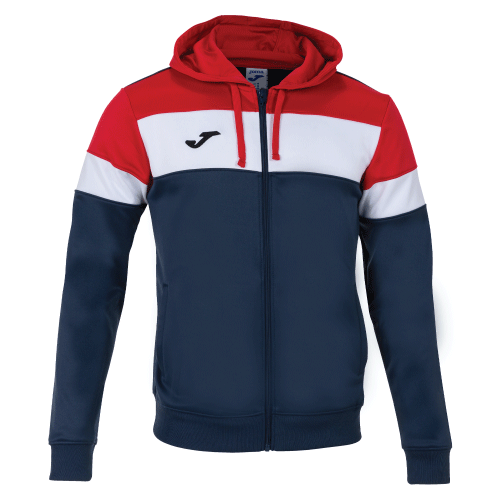 CREW IV HOODED  TOP - Dark Navy/Red/White