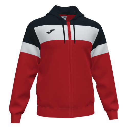 CREW IV HOODED  TOP - Red/Black/White