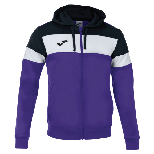 CREW IV HOODED  TOP - Violet/Black/White