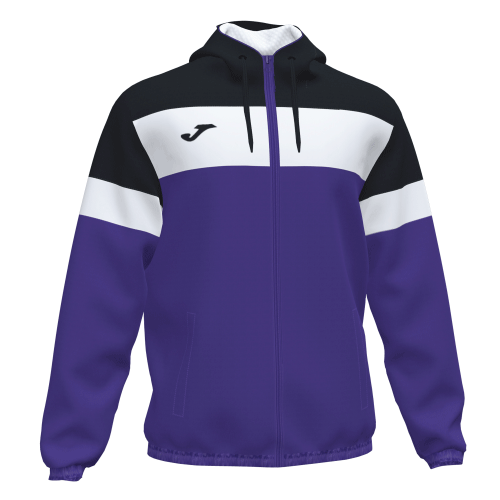 CREW IV RAIN JACKET - Violet/Black/White