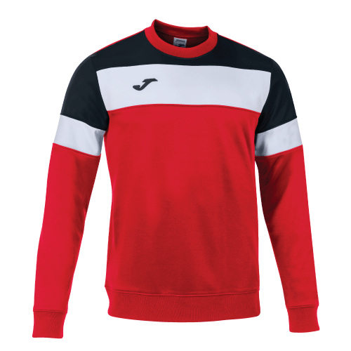 CREW IV SWEATSHIRT - Red/Black/White