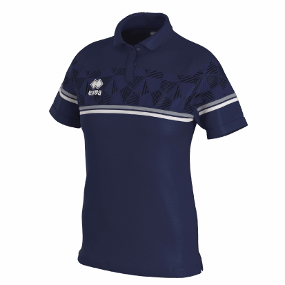 DARYA POLO - Navy/Grey/White