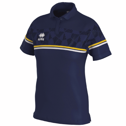 DARYA POLO - Navy/Yellow/White