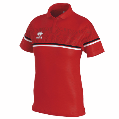 DARYA POLO - Red/Black/White