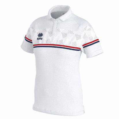 DARYA POLO - White/Red/Navy