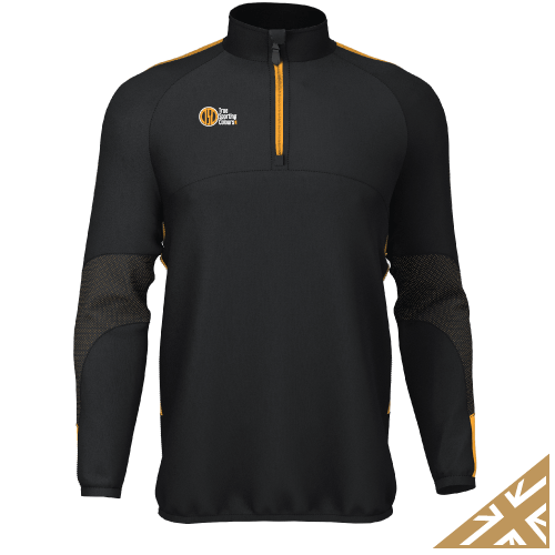 DNA PRO MIDLAYER - Black/Amber