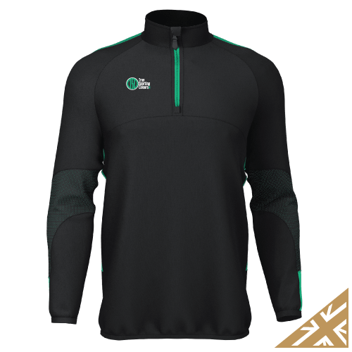 DNA PRO MIDLAYER - Black/Emerald
