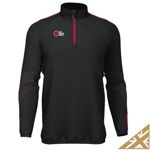 DNA PRO MIDLAYER - Black/Red