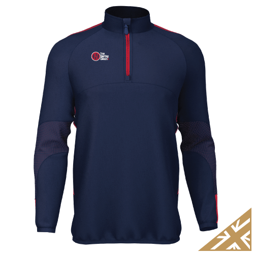 DNA PRO MIDLAYER - Navy/Red