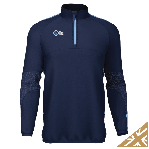 DNA PRO MIDLAYER - Navy/Sky