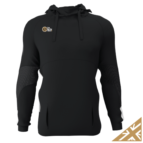 DNA PRO POLY HOODIE - Black/White