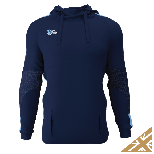 DNA PRO POLY HOODIE - Navy/Sky
